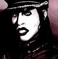 Marilyn Manson Portrait by Alban Dizdari