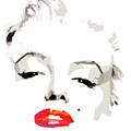 Marilyn Monroe Minimalist by Quim Abella