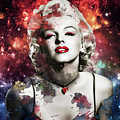 Marilyn Monroe   Colorful  by Prar Kulasekara