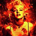 Marilyn Monroe   Golden  by Prar Kulasekara