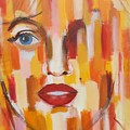 Marilyn Monroe  by Habib Ayat