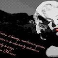 Marilyn Monroe Imperfection Is Beauty by Brad Scott