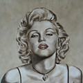 Marilyn Monroe by Jindra Noewi