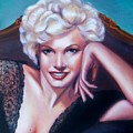 Marilyn Monroe by Joni McPherson