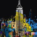 Marilyn Monroe New York City 1 by Tony Rubino