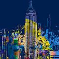 Marilyn Monroe New York City 2 by Tony Rubino