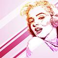Marilyn Monroe Portrait by Giordano Aita