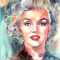 Marilyn Monroe Portrait by Suzann's Art