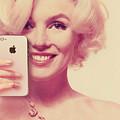 Marilyn Monroe Selfie 1 by Tony Rubino