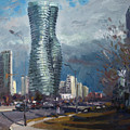 Marilyn Monroe Towers Mississauga by Ylli Haruni