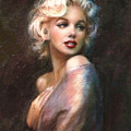 Marilyn Romantic Ww 1 by Theo Danella