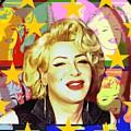 Marilyn Superstar Pop by Axeil Flash