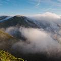 Marin Headlands Fog Rising - Sausalito Marin County California by Silvio Ligutti