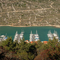 Marina In Cres by Stefan Rotter