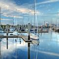 Marina Sunrise by Farol Tomson