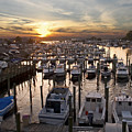 Marina Sunset by Andrew Kazmierski