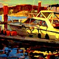 Marina Sunset by Brian Simons