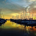 Marina Sunset by Greg Kear