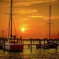 Marina Sunset by Robert Schmitt