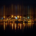 Marine At Night by Lilia D