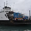 Marine City Mich Car Truck Ferry by Randy J Heath