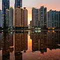 Marine City Sunset by Roy Cruz