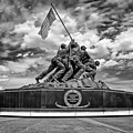 Marine Corps War Memorial by Anthony Sacco