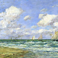 Marine Scene by Eugene Louis Boudin