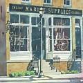 Marine Supply Store by LeAnne Sowa