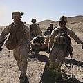 Marines Transport A Simulated Downed by Stocktrek Images