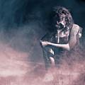 Marinette - Mysterious Woman In Venetian Mask by Dylan Murphy