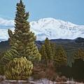 Marion Mountain In Winter by Jiji Lee