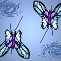 Mariposas by Aline Pottier  Gama Duarte