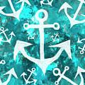 Maritime anchor art by Jorgo Photography - Wall Art Gallery