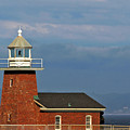 Mark Abbott Memorial Lighthouse California - The World's Oldest Surfing Museum by Christine Till