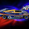 Mark Donohue And George Follmer Porsche by Blake Richards
