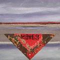 Marker At Dusk by Gail Hinchen