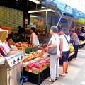 Market At Bensonhurst Brooklyn Ny 1 by Jeelan Clark