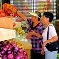 Market At Bensonhurst Brooklyn Ny 2 by Jeelan Clark