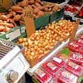 Market At Bensonhurst Brooklyn Ny 4 by Jeelan Clark