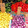 Market At Bensonhurst Brooklyn Ny 6 by Jeelan Clark