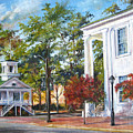 Market Hall In The Fall by Gloria Turner