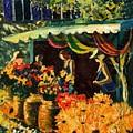 Market In Provence by Pol Ledent