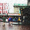 Market In Rain J005 by Yoshiki Nakamura
