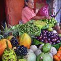 market stall in Nicaragua by Rudi Prott