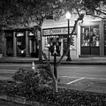 Market Street At Night In Black And White by Greg Mimbs