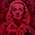 Marlene In Red  by Ansgard Thomson