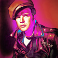 Marlon Brando The Wild One 20160116 by Wingsdomain Art and Photography