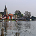 Marlow By The River Thames by Chris Day