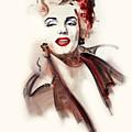 Marilyn Manroe by Ron Di Scenza